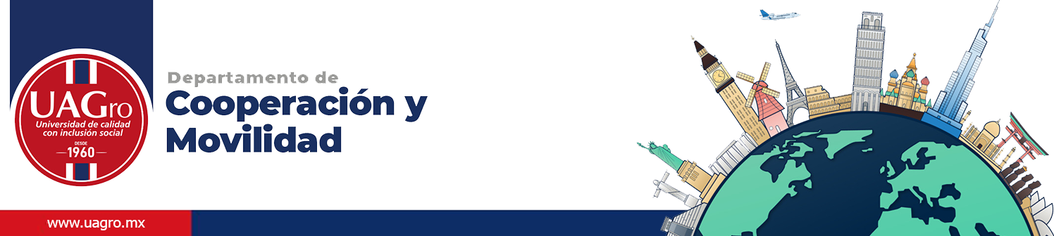 Departamento de Cooperación y Movilidad UAGro